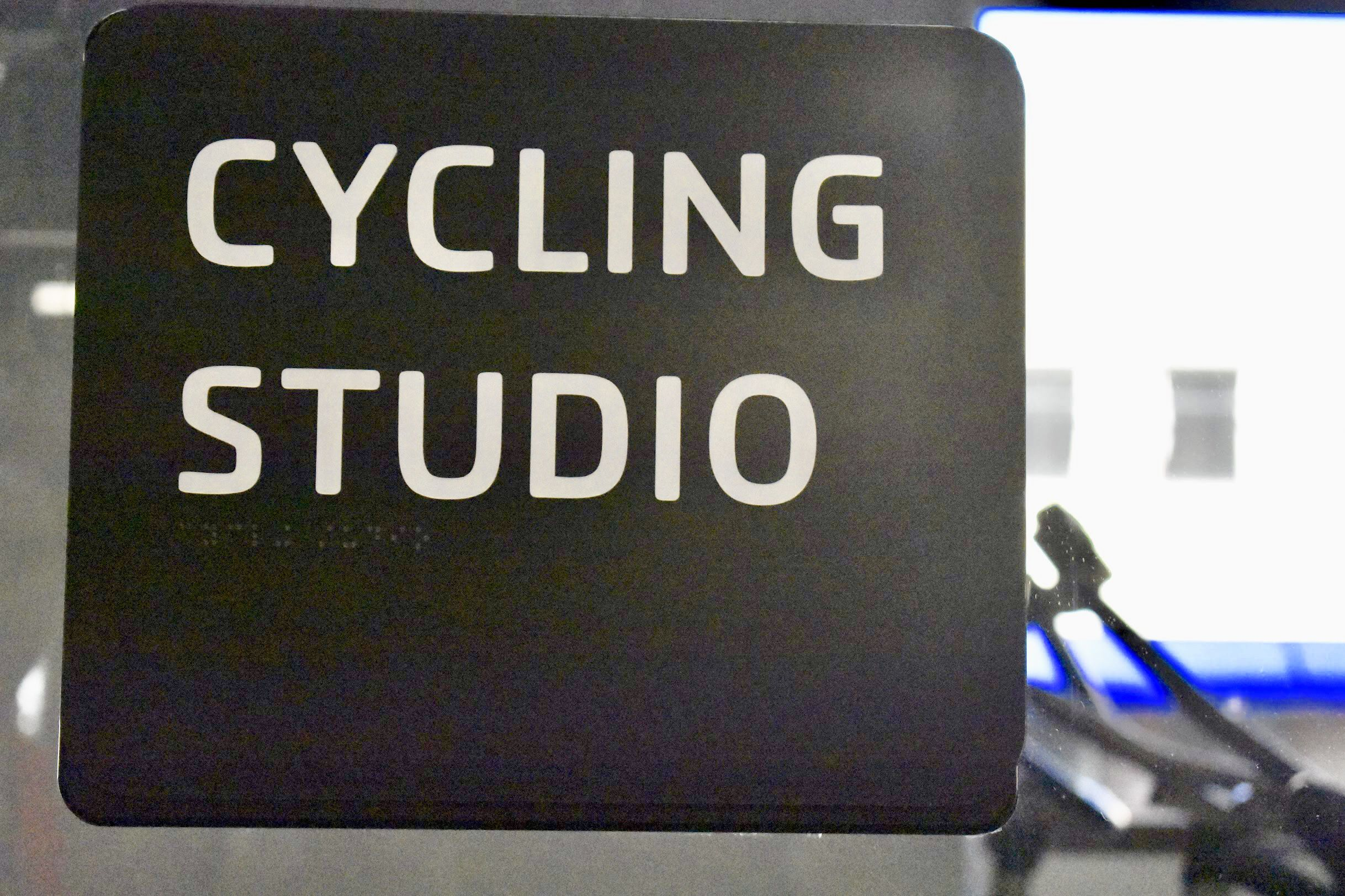 Cycling Studio Sign