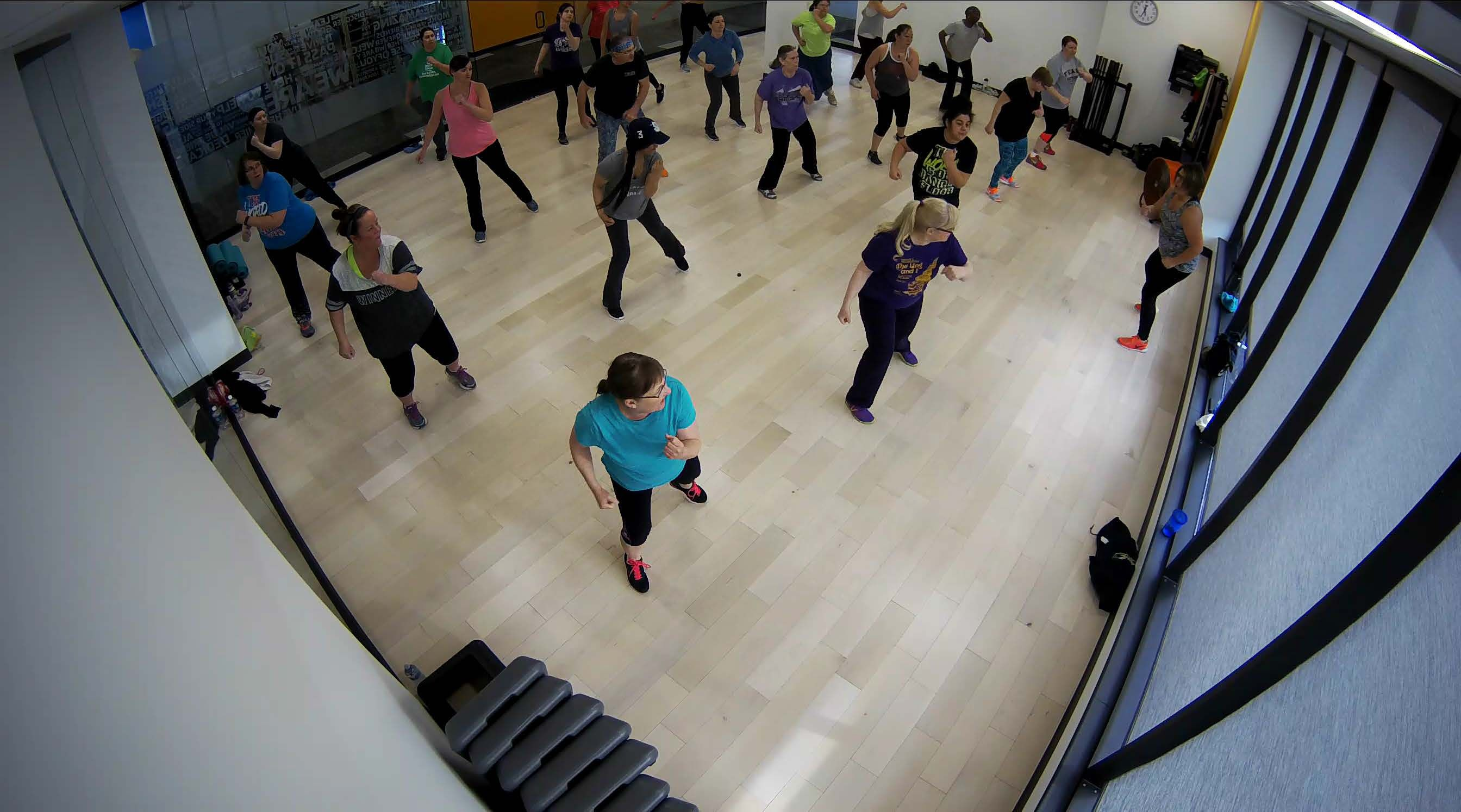 Downtown Group Fit Class
